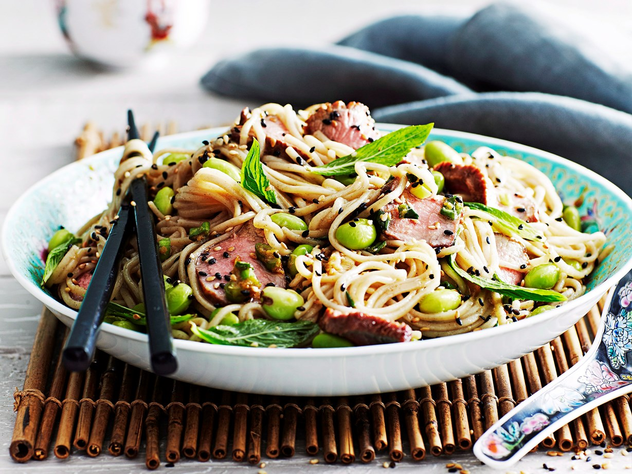 12 ways with soba noodles