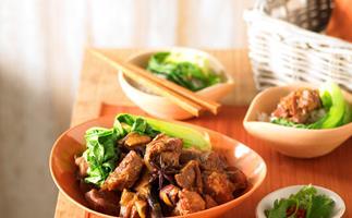 Asian braised pork