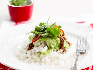 Asian fish cabbage rolls