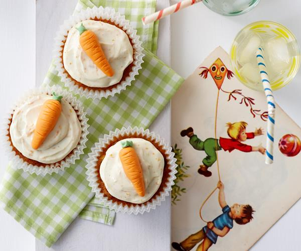 Carrot top cupcakes recipe | Food To Love