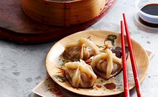 Pork, Shiitake and Water Chestnut Dumplings