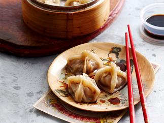 Pork, Shiitake and Water Chestnut Dumplings