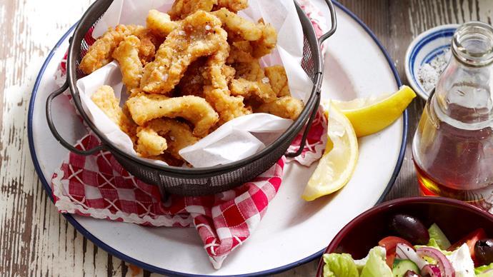 calamari and chips recipe