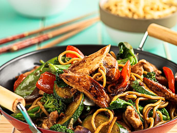 "**[Sesame chicken and vegetable stir-fry](https://www.womensweeklyfood.com.au/recipes/sesame-chicken-and-vegetable-stir-fry-with-asian-style-dressing-25393|target=""_blank"")**  Step away from the ready-made packet variety and whip up a fresh batch in your own kitchen."