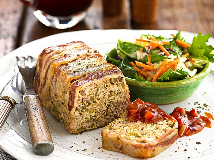 "**[Quinoa, chicken and turkey meatloaf](https://www.womensweeklyfood.com.au/recipes/quinoa-chicken-and-turkey-meatloaf-25398|target=""_blank"")**  Chutney and a green salad give this tasty meal a refreshing edge."