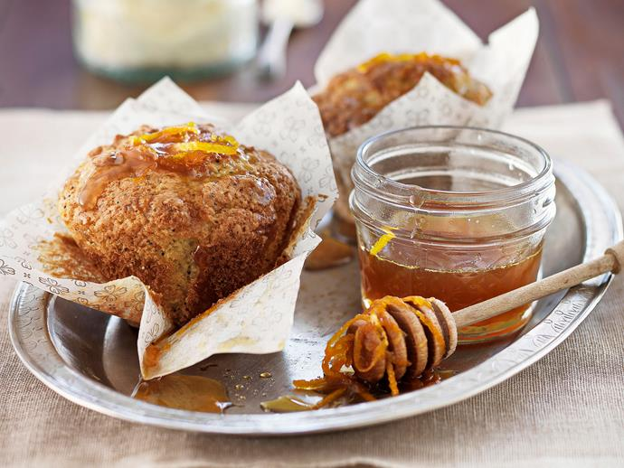 """**[Orange and poppy seed muffins](https://www.womensweeklyfood.com.au/recipes/orange-and-poppy-seed-muffins-26177