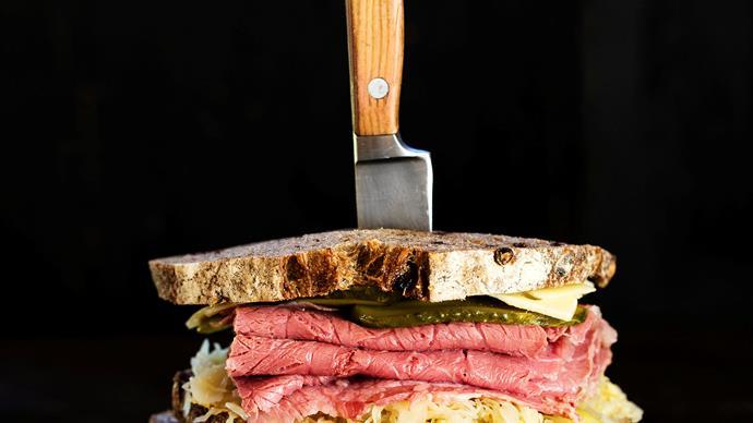 Van de Reuben sandwich