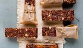 20 homemade muesli bars and snack bars