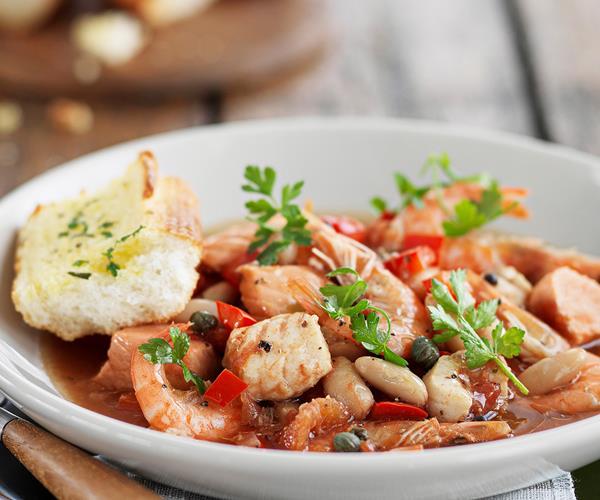 Mediterranean Style Recipes: Mediterranean-style Seafood Stew Recipe
