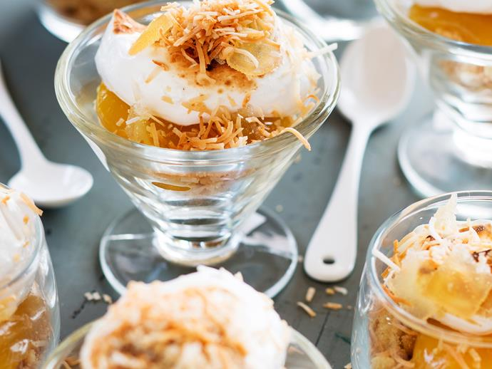 """**[Lemon curd tarts with milk crumbs and ginger](https://www.womensweeklyfood.com.au/recipes/lemon-curd-tarts-with-milk-crumbs-and-ginger-26837