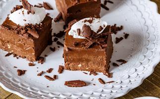 Chocolate and Raspberry Layer Cake