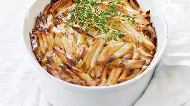 Swedish gratin potatoes