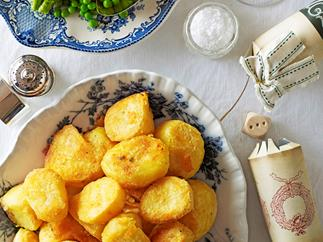 Crispy, golden roast potatoes