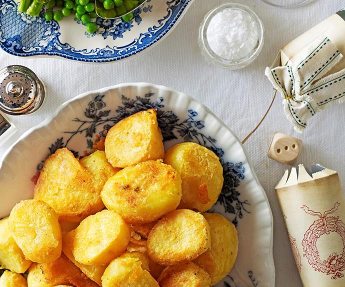 Crispy, golden roast potatoes