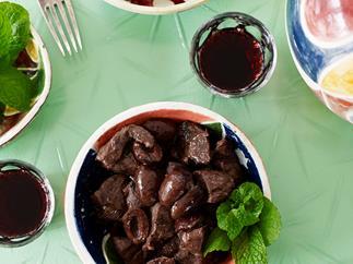 Sardinian lamb stew
