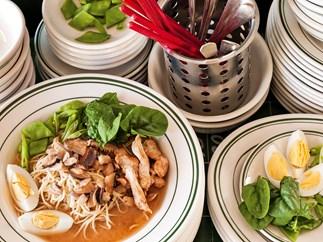 Japanese Ramen-Style Noodle Soup