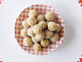 Apricot Almond and Orange Bliss Balls