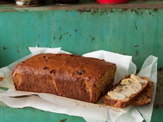 Walnut sultana loaf