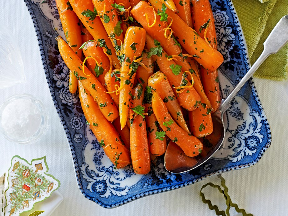 "**[Brown sugar and orange-glazed carrots](https://www.womensweeklyfood.com.au/recipes/brown-sugar-and-orange-glazed-carrots-24303|target=""_blank"")** The perfect side dish to any roast dinner, these gorgeous brown sugar and orange glazed carrots are wonderfully sweet and packed full of flavour. You'll have the whole family reaching for more!"