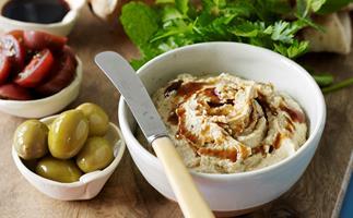 Creamy Caper Hummus