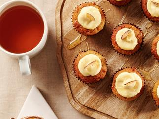 Brown-Butter, Chamomile and Honey Mini Muffins