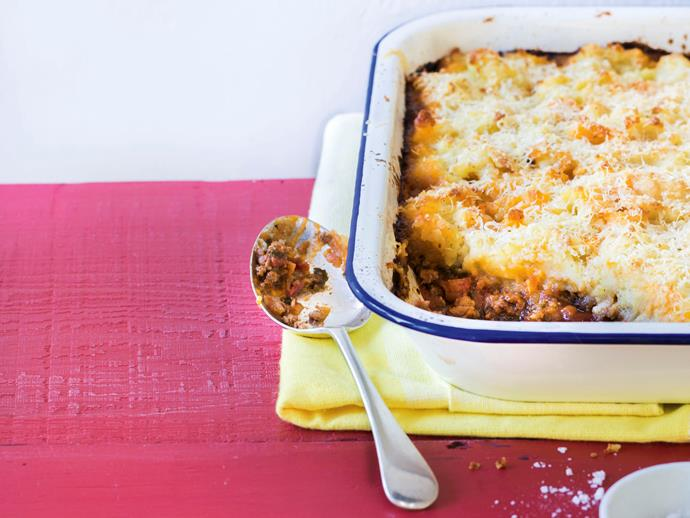 """**[Shepherd's pie](https://www.womensweeklyfood.com.au/recipes/shepherds-pie-27856