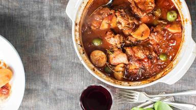 Fancy Italian chicken casserole