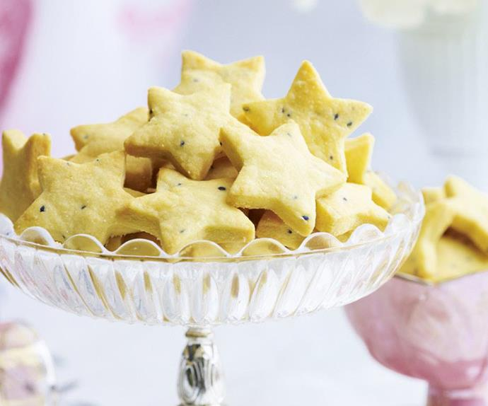 pecorino and nigella seed biscuits