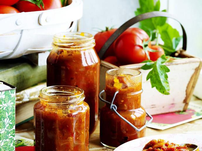 """This beautifully flavoured [sun-dried tomato relish](https://www.womensweeklyfood.com.au/recipes/sun-dried-tomato-relish-14921
