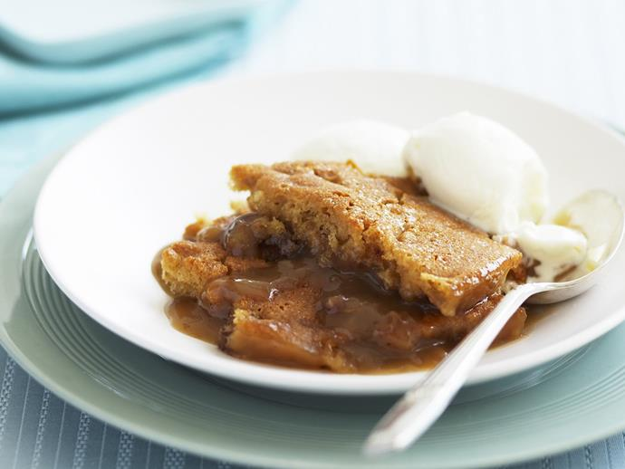 "**[Date and butterscotch self-saucing pudding](https://www.womensweeklyfood.com.au/recipes/date-and-butterscotch-self-saucing-pudding-14957|target=""_blank"")**"