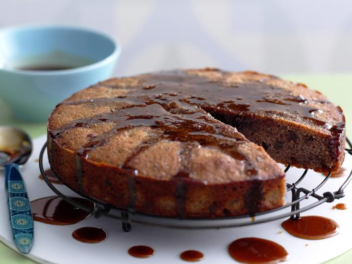"**[Flourless fig, pecan and maple cake](http://www.womensweeklyfood.com.au/recipes/flourless-fig-pecan-and-maple-cake-14407|target=""_blank"")**"