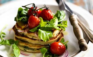 Delicious savoury crepes and pancakes