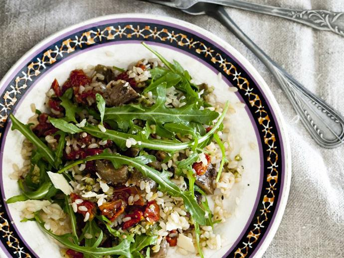 """An [antipasto rice salad](https://www.womensweeklyfood.com.au/recipes/antipasto-rice-salad-14475