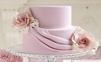 dusky rose  Cake