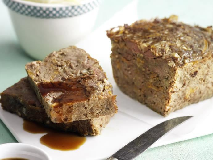 """**[Meatloaf with stir-fried cabbage](https://www.womensweeklyfood.com.au/recipes/meatloaf-with-stir-fried-cabbage-5906