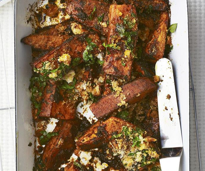 moroccan sweet potato bake