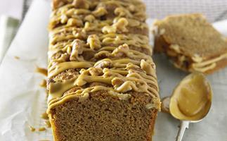 Coffee walnut loaf