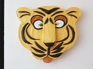 timothy tiger kids' cake