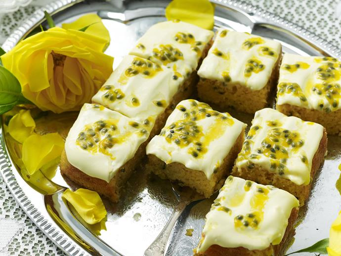 "[Passionfruit madeira cake](https://www.womensweeklyfood.com.au/recipes/passionfruit-madeira-cake-5982 target=""_blank"")"