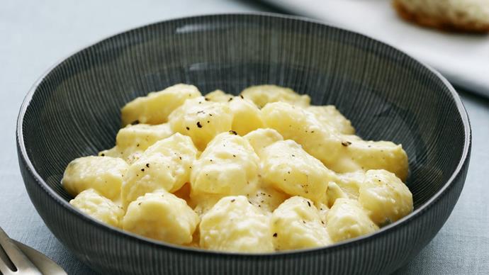 gnocchi quattro formaggio