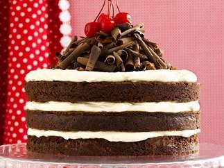 rich black forest cake