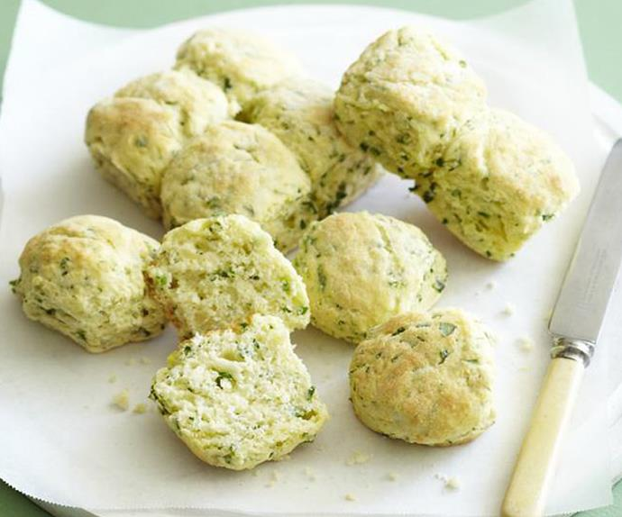 PARSLEY AND CHIVE SCONES