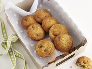 Coconut fortune cookies