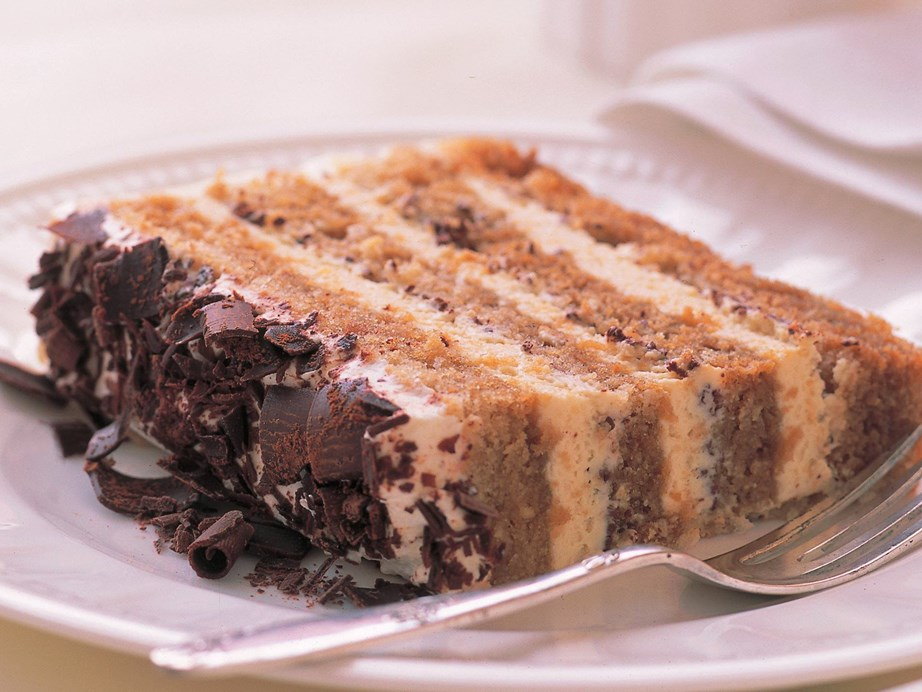 "Take the famous Italian dessert up a notch with the decadent [Tiramisu cake](https://www.womensweeklyfood.com.au/recipes/tiramisu-cake-13907|target=""_blank""). With its layers of coffee cake and creamy mascarpone filling it will be sure to impress."