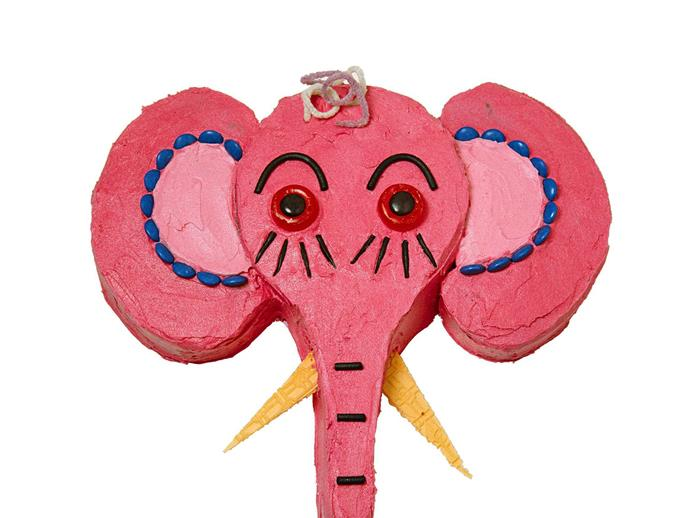 """**[Jungle elephant cake](http://www.womensweeklyfood.com.au/recipes/jungle-elephant-cake-13952