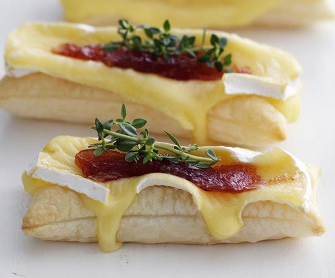 brie and quince matchsticks