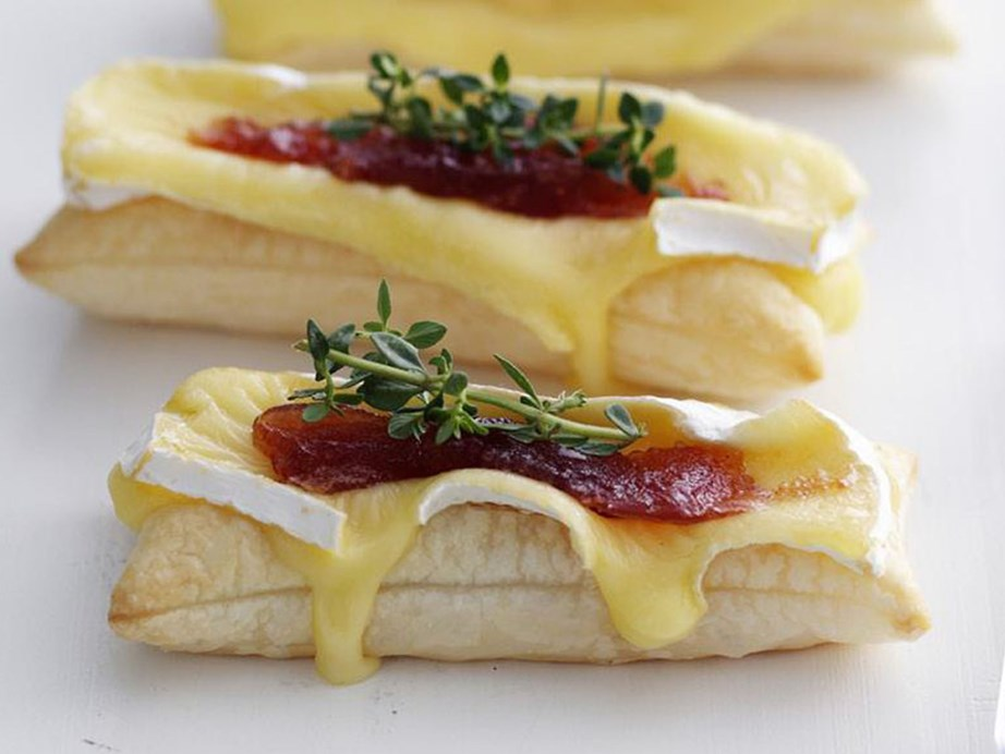 """By using bought puff pastry these [brie and quince matchsticks](https://www.womensweeklyfood.com.au/recipes/brie-and-quince-matchsticks-15405