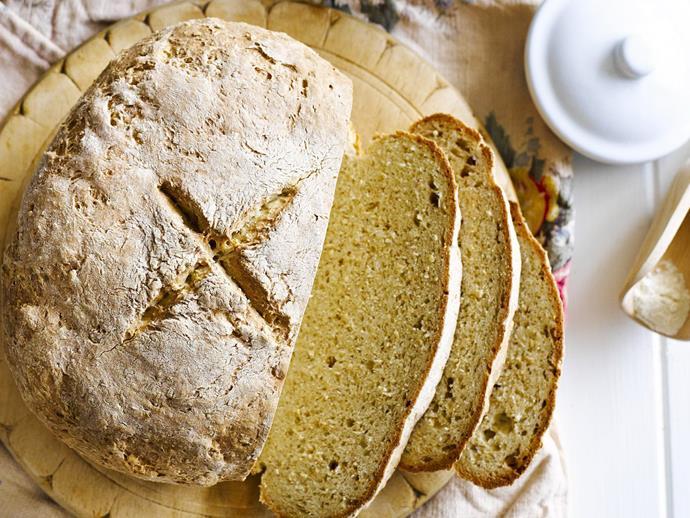 "**[Irish soda bread](https://www.womensweeklyfood.com.au/recipes/irish-soda-bread-15410|target=""_blank"")**"