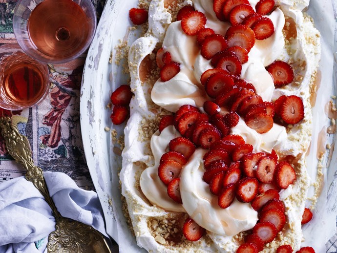PEANUT BUTTER & JELLY PAVLOVA