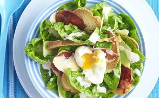 Baby Cos Caesar Salad